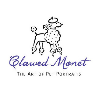 Clawed Monet Pet Portraits logo