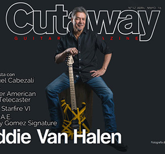 EVH on the cover of Cutaway magazine (Spain)